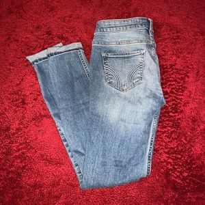 Hollister stretch mid-rise skinny jeans